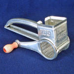 Mouli 1952 Tin Grater Utensil