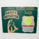 Click here to enlarge image and see more about item 14482: Frontier Marshall Badge 1950s Japan Dime Store Toy