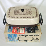 Click here to enlarge image and see more about item 14552: Presto 1970s Jumbo Electric Fry Pan in Original Box