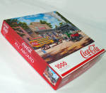Click here to enlarge image and see more about item 14554: All Aboard Coca Cola Train Springbok Jigsaw Puzzle