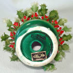 Click to view larger image of Inarco Christmas Holly Pixie Elf Ceramic Figurine (Image3)