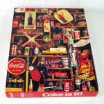 Click here to enlarge image and see more about item 14585: Coke Is It Springbok Jigsaw Puzzle - Coca Cola Collectibles