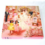 Click here to enlarge image and see more about item 14601: Barbie Dream Wedding Springbok Jigsaw Puzzle Complete