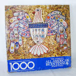 Click here to enlarge image and see more about item 14621: American Bicentennial Jewelry Collage Springbok Jigsaw Puzzle