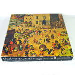 Click here to enlarge image and see more about item 14732: Children's Games Pieter Brueghel, 1969 Springbok Fine Art Puzzle