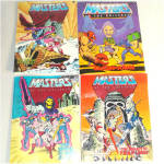 Click to view larger image of He-Man Masters of the Universe Lot of Action Figures, Horse, Comics (Image7)