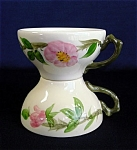 Click here to enlarge image and see more about item 2625: 2 Franciscan Desert Rose Cups 1941