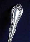 Click here to enlarge image and see more about item 3109: Chalice Oneida Wm A Rogers Silverplate Pierced Serving Spoon