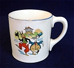 Click here to enlarge image and see more about item 3569: Childs 1924 Uncle Wiggily Ovaltine Advertising Pottery Mug