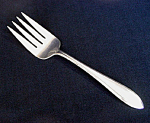 Click here to enlarge image and see more about item 4157: Lufberry Rogers International Silverplate Cold Meat Fork