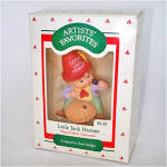 Click here to enlarge image and see more about item 4846: Hallmark 1988 Little Jack Horner Keepsake Ornament