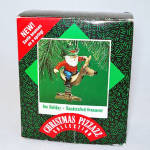 Click here to enlarge image and see more about item 4869: Hallmark 1987 Doc Holiday Christmas Ornament