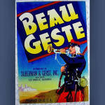 Click here to enlarge image and see more about item 491: 1930s Beau Geste Produce Crate Label