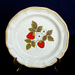Mikasa Strawberry Festival Salad Plate - 3 Available