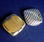 2 Lighted Plastic Compacts Schildkraut Look A Lite