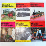 Click here to enlarge image and see more about item 5197: 6 Issues Model Engineer Magazine January 3 - March 31 1969
