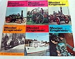 Click here to enlarge image and see more about item 5198: 6 Issues Model Engineer Magazine April 4 - June 30 1969