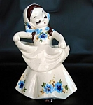 DeLee Art Pottery Nina 1943 Lady Vase Flower Holder