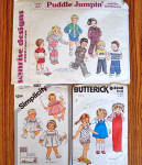 Click to view larger image of Lot of 11 Baby and Toddler Clothing Sewing Patterns (Image2)