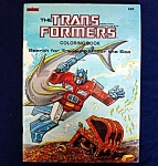 Click here to enlarge image and see more about item 5421: Transformers 1984 Coloring Book