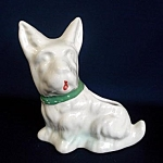 Figural Scotty Dog Planter
