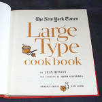 Click to view larger image of New York Times Large Type Cook Book (Image2)