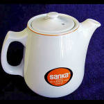 Restaurant Sanka Instant Coffee Pot By Hall China