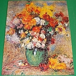 Click here to enlarge image and see more about item 5878: Springbok 1968 Renoir Bouquet of Chrysanthemums Puzzle