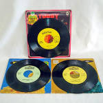 Click to view larger image of Cookie Monster, Big Bird, Tubby Tuba Child's 45 RPM Records (Image2)
