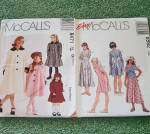 Click to view larger image of Lot of 6 Sewing Patterns Girls Clothing Sizes 7 through 10 Uncut (Image3)