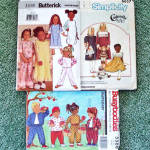 Click to view larger image of Lot of 7 Children's Clothing Sewing Patterns Sizes 4 - 8, Most Uncut (Image2)