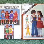 Click to view larger image of Lot of 7 Children's Clothing Sewing Patterns Sizes 4 - 8, Most Uncut (Image3)