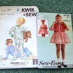 Click to view larger image of Lot of 7 Children's Clothing Sewing Patterns Sizes 4 - 8, Most Uncut (Image4)