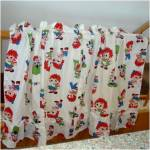 Click to view larger image of Pair of Raggedy Ann and Andy Ruffled Window Curtains (Image2)