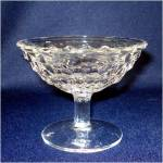 2 Fostoria American Crystal Low Footed Sherbets