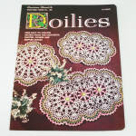 Click here to enlarge image and see more about item 7682-3: 1956 Star Doilies Crochet Pattern Instruction Booklet