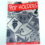Click here to enlarge image and see more about item 8126: Pot Holders 1945 Crochet Pattern Booklet