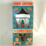 Coach Lantern Christmas Light With Halo in Original Box