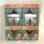 Click to view larger image of Coach Lantern Christmas Light With Halo in Original Box (Image4)