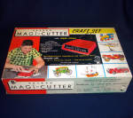 Click here to enlarge image and see more about item 8350: 1950s Hasbro Magic Cutter Auto Kit Play Set Unused