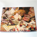 Click here to enlarge image and see more about item 8499: Springbok Seams Like Yesterday Needlework Jigsaw Puzzle