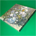 Click here to enlarge image and see more about item 8575: Spring Bouquet Renoir Painting Springbok Jigsaw Puzzle