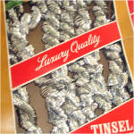 Click to view larger image of Assortment 4 Packages Christmas Tinsel Garland (Image4)