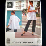 Vogue Jennifer George Petite Shirt Pants Sewing Pattern Uncut