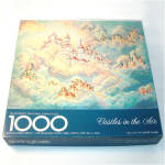 Click here to enlarge image and see more about item 9178: Castles In The Air Springbok 1000 Piece Jigsaw Puzzle