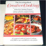 Click here to enlarge image and see more about item 9185: Encyclopedia of Creative Cooking 1984 Cookbook