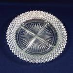 Click here to enlarge image and see more about item 9207-2: Hocking Miss America Divided 4 Part Relish Dish