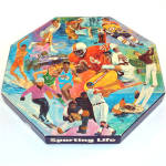 Click here to enlarge image and see more about item 9207: Sporting Life 1973 Springbok Octagonal Jigsaw Puzzle