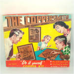 Click here to enlarge image and see more about item 9212: Coppersmith 1950s Embossed Copper Southern Belle Picture Kit