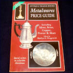 Click here to enlarge image and see more about item 9224-2: Metalwares Price Guide Antique Trader Identification Book